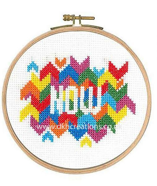 Now Cross Stitch Kit